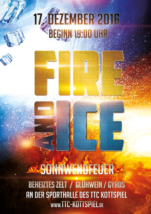 2016 12 17 Sonnwendfeuer Poster 2016 500x707